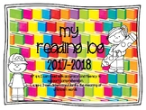 Daily 5 Reading Log- Read to Self, Word Work, Work on Writing