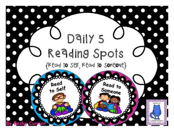 Daily 5 Reading Spots