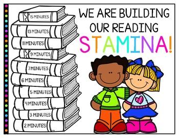 Daily 5 Reading Stamina Chart