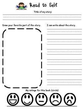 Daily 5 Ready to Use Worksheets