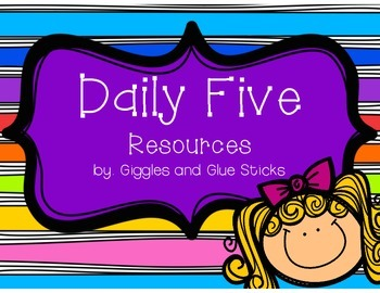 Daily 5 Resources - Freebie!!