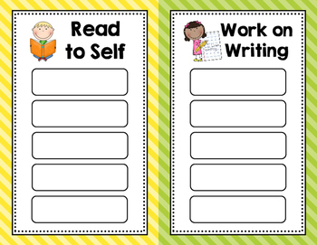 Daily 5 Rotation & Anchor Charts (English & Spanish)