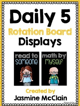 Daily 5 Rotation Board Displays