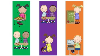 Daily 5 Math Rotation Bookmarks