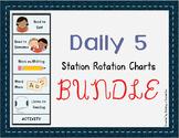 Daily 5 Station Rotation Themed Charts ~ Bundle