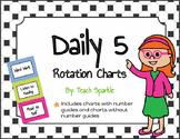 Daily 5 Rotations Choice Charts