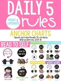 Daily 5 Rules Anchor Charts