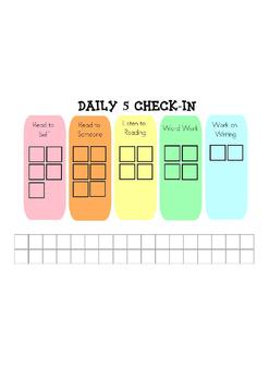 Daily 5 SMART board check-in