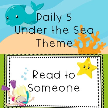 Daily 5 Sea Theme