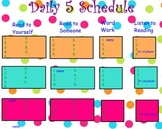 Daily 5 Sign In on Smartboard