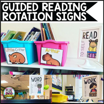 Guided Reading Rotation Signs