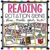 Reading Rotation Signs & Recording Sheet