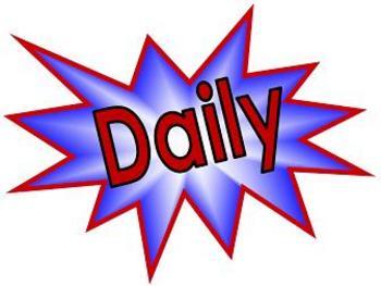 Daily 5 Single Word Bulletin Board Headers-FREEBIE