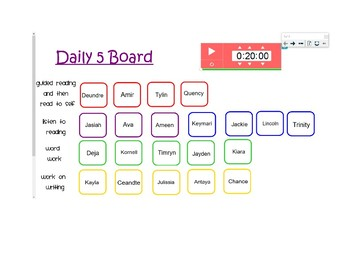 Daily 5 SmartBoard Rotations