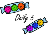 Daily 5 Smartboard Rotations (Candy Theme)