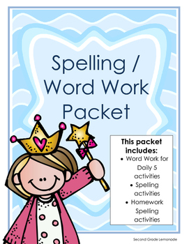 Daily 5/Spelling Packet
