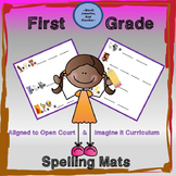 Open Court Imagine It Spelling Mats for Phonics