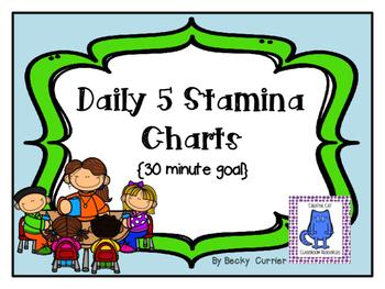 Daily 5 Stamina Charts