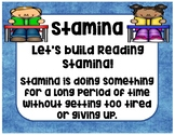 Daily 5: Stamina and Good Fit Books Posters-I PICK