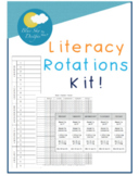 Daily 5 Literacy Rotations Starter Kit