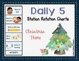 Daily 5 Station Rotation Themed Charts: Christmas