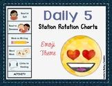 Daily 5 Station Rotation Themed Charts: Emoji