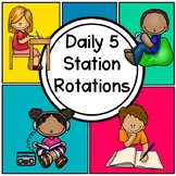 Daily 5 Station Rotations