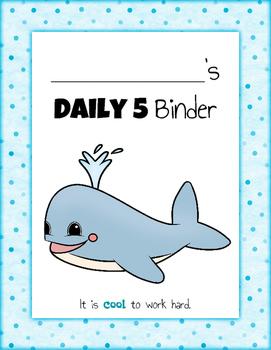 Daily 5 Student Binders BUNDLE