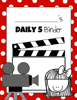 Daily 5 Student Binders (Movie Star Version)