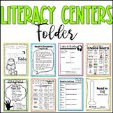 Daily 5 Student Folder