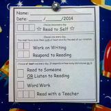 """Daily 5 Inspired Student Self """"Check-In"""""""