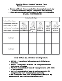 Daily 5 Student Tracking Form