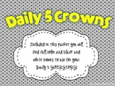 Daily 5 Superstar Crowns