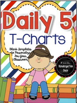 Daily 5 T-Charts