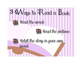 Daily 5 Three Ways to Read a Book