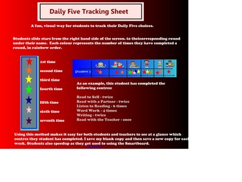 Daily 5 Tracking