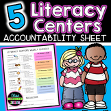 Daily 5 Weekly Student Accountability