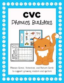 Phonics Builders: CVC Words