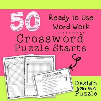 Crossword Puzzle Starts