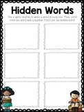 Daily 5 Word Work Idea- Hidden Words