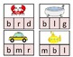 Daily 5 Word Work Identifying Final Sounds Game