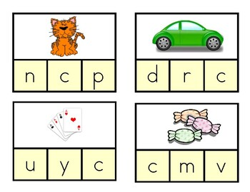 Daily 5 Word Work Identifying Initial Sounds Game