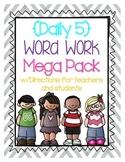 Daily 5 Word Work Mega Pack
