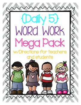 Daily 5 Word Work Mega Pack