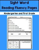Daily 5 Word Work Sight Word Fluency