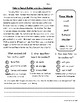Daily 5 Word Work and Close Reading Comprehension Passages:  April