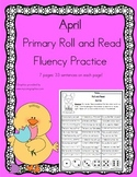 Daily 5 Word Work and Reading Roll and Read Fluency April