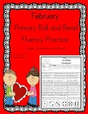 Daily 5 Word Work and Reading Roll and Read Fluency February