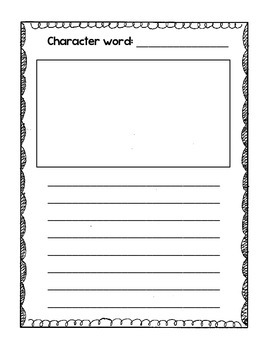 Daily 5: Word Work/Writing Centers - 7 writing options!