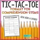 Work on Writing Tic Tac Toe Board {Daily 5 & Literacy Centers Friendly}